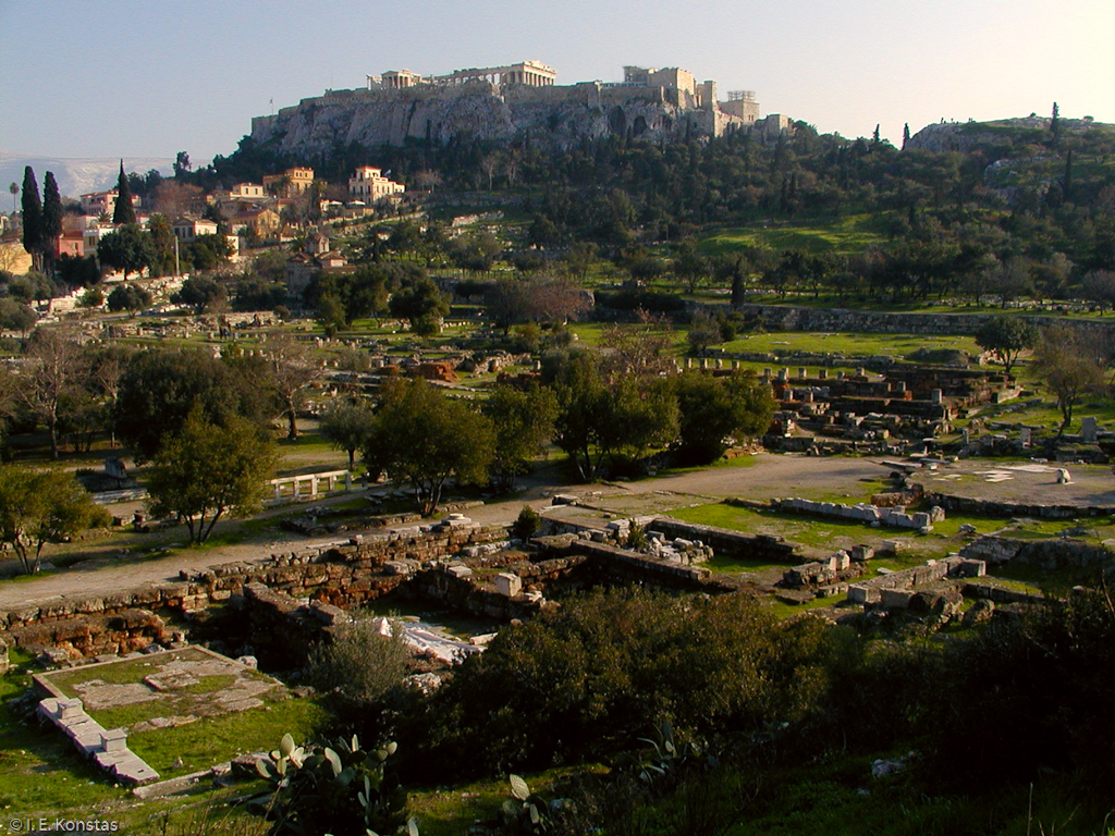 Acropolis seen from the Greek Agora