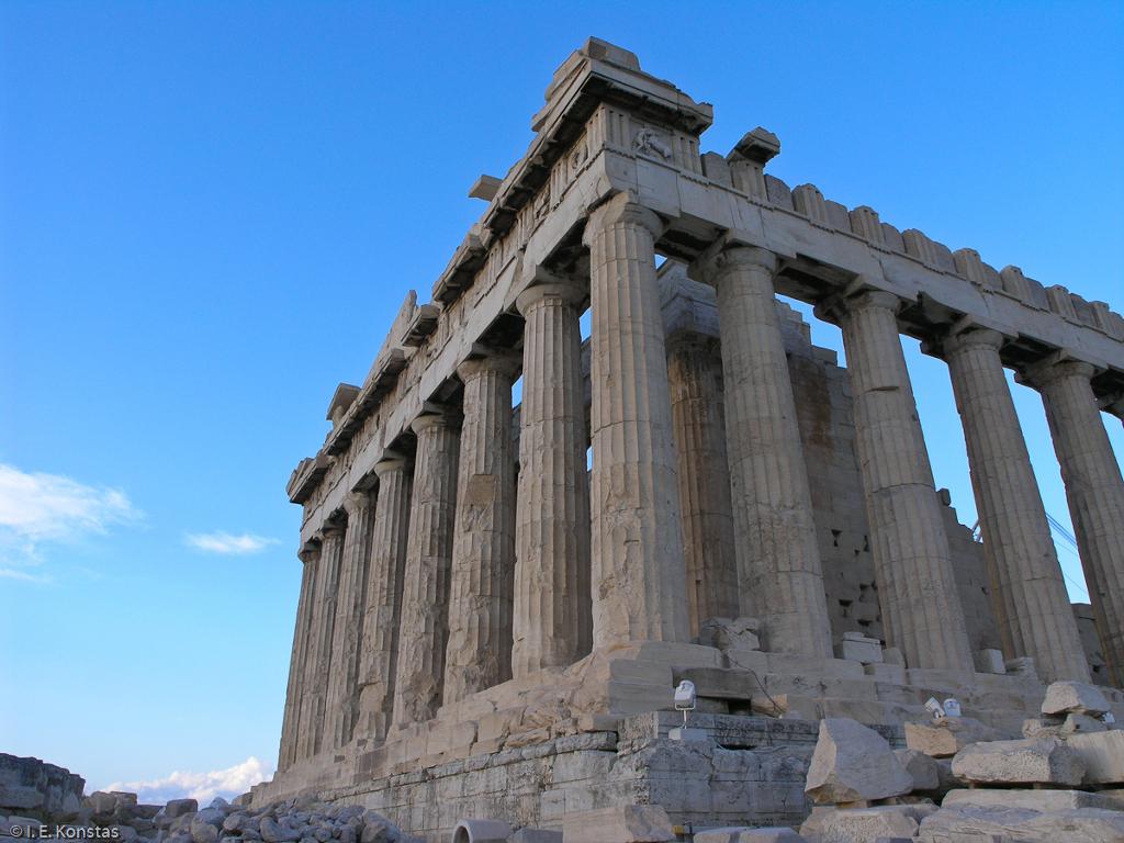 Parthenon close up