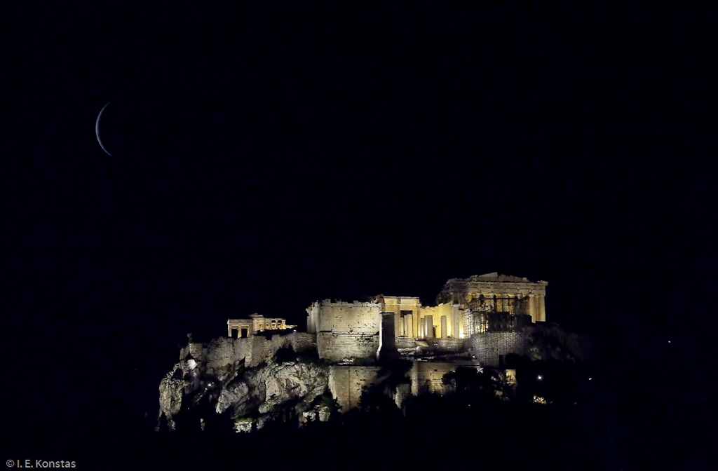 Acropolis seen from the Pnyx